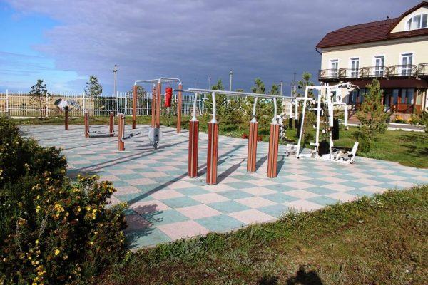 Фитнес площадка
