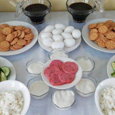 Шведский стол с завтраками (1)